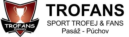 Trofans Púchov - športové trofeje a predmety pre fanúšikov